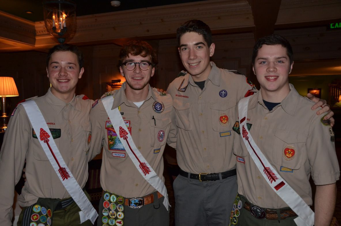 Four Skaneateles High School graduates recognized for reaching Eagle Scout ranks