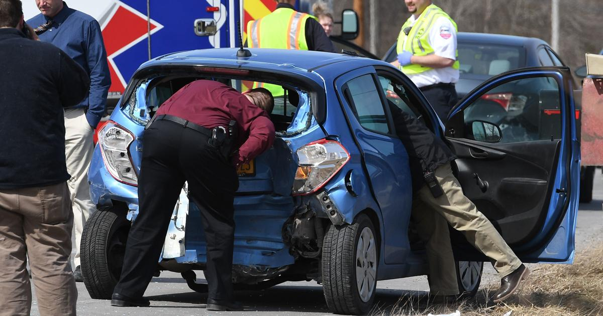 Man killed in three-vehicle crash on Route 34 north of