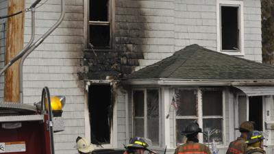Auburn woman displaced after residential fire on Arch Street