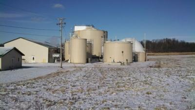 County digester shut down