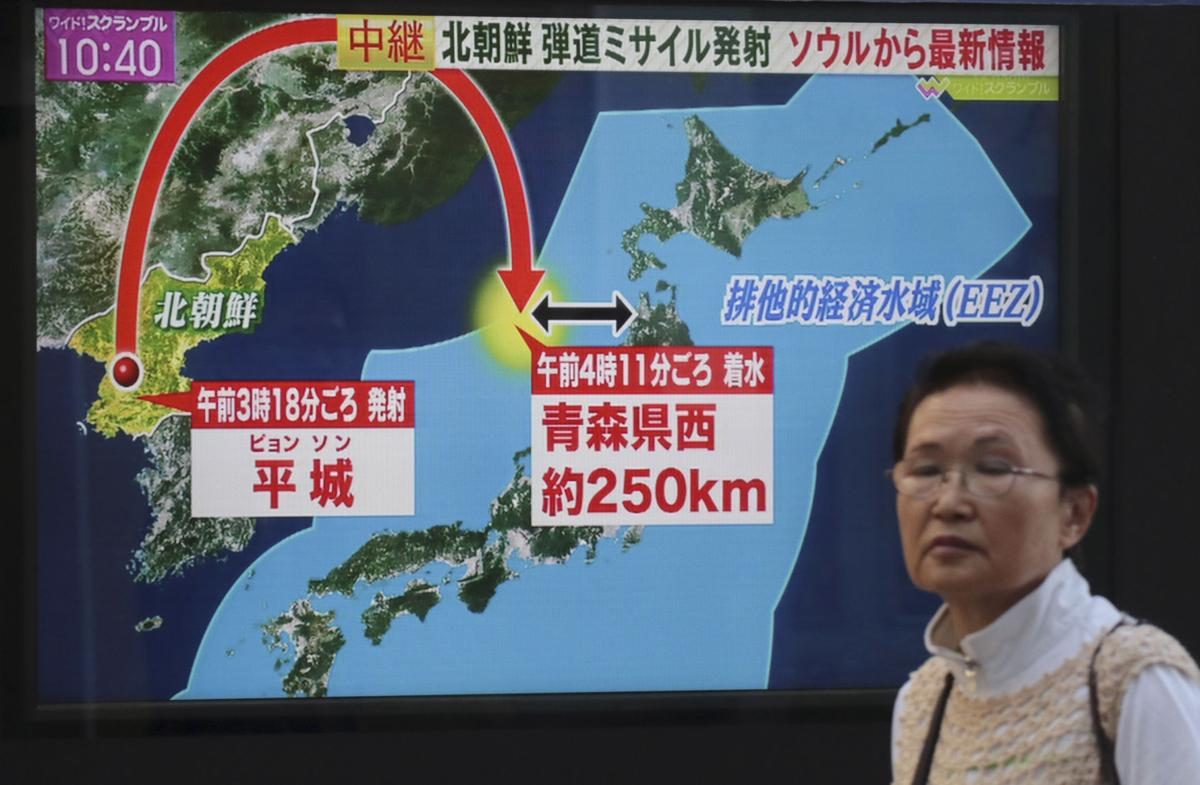Japan North Korea Missiles