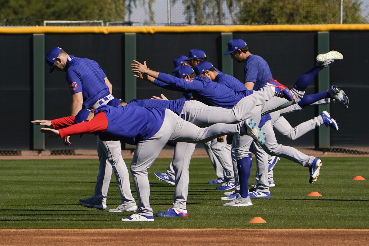 APTOPIX Cubs Spring Baseball