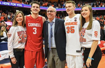 Syracuse Men S Basketball Wins Battle Of The Boeheims Over Cornell
