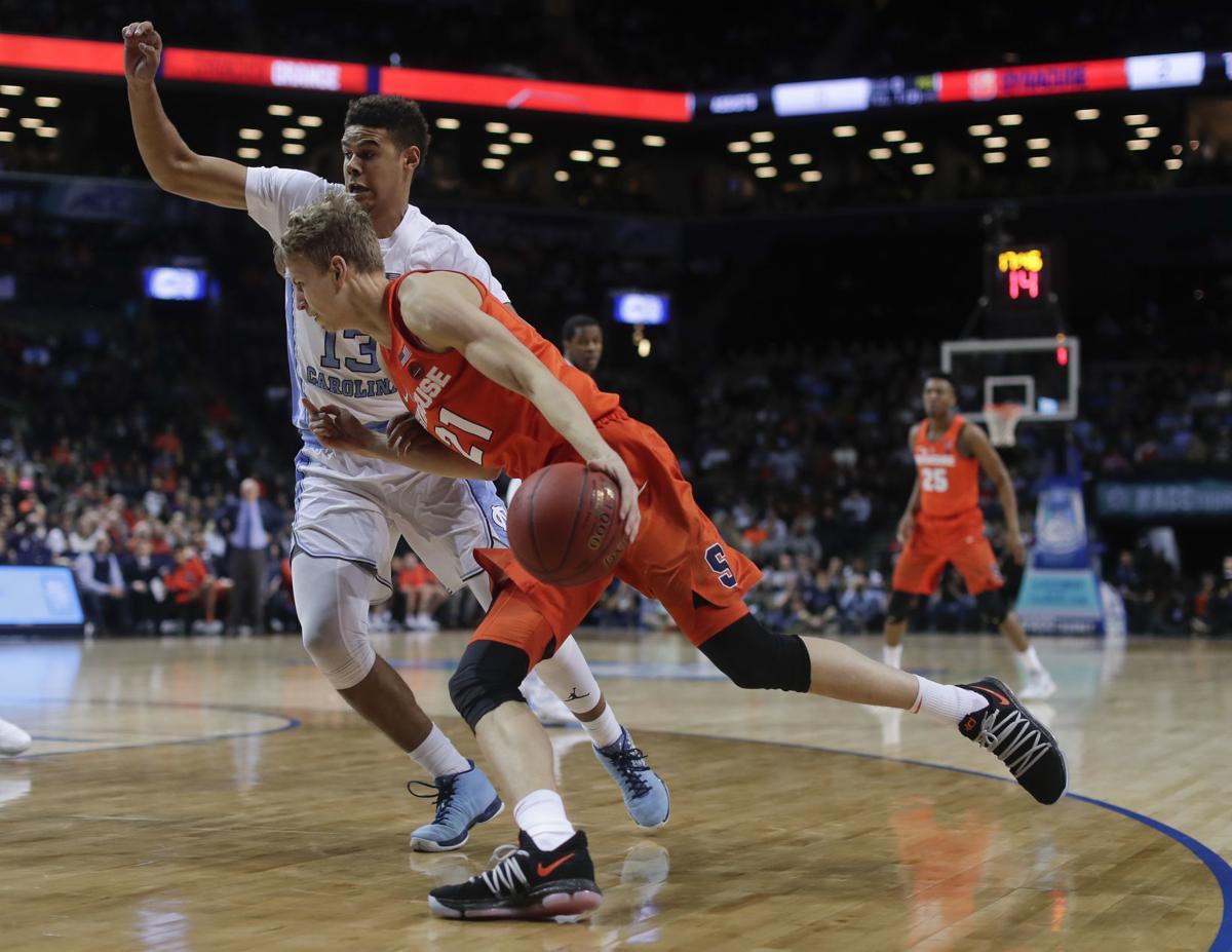 ACC Syracuse North Carolina Basketball