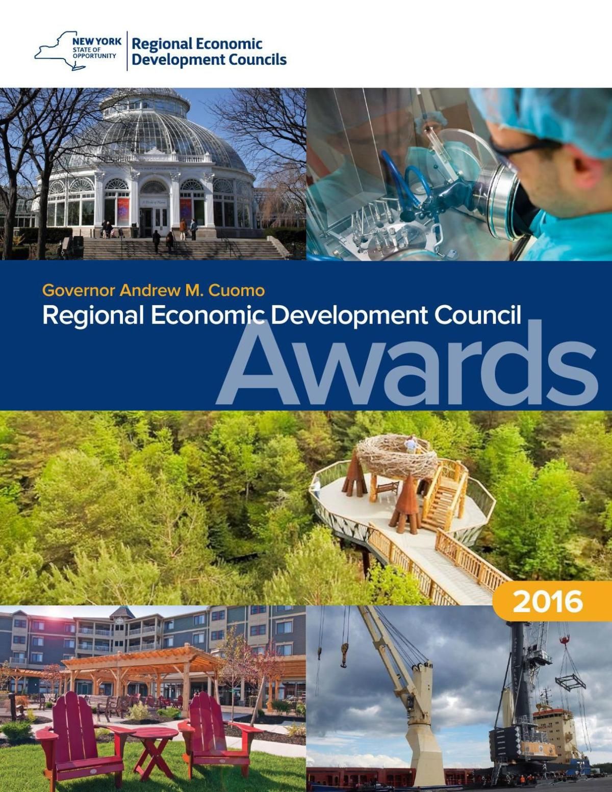 Regional Economic Development Council Awards Booklet 2016
