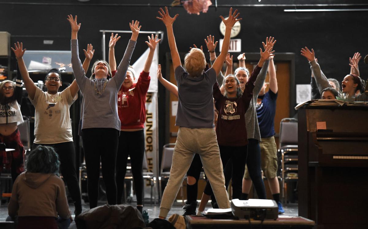 'Shrek the Musical' rehearsals 1