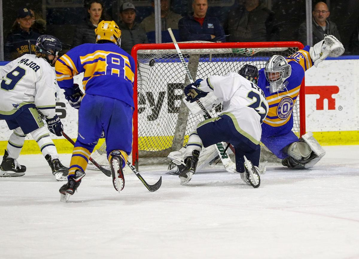 NYSPHSAA HOCKEY FINAL: Queensbury vs Skaneateles
