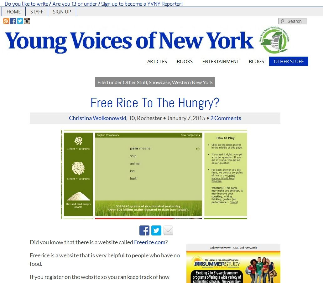 Young Voices of New York