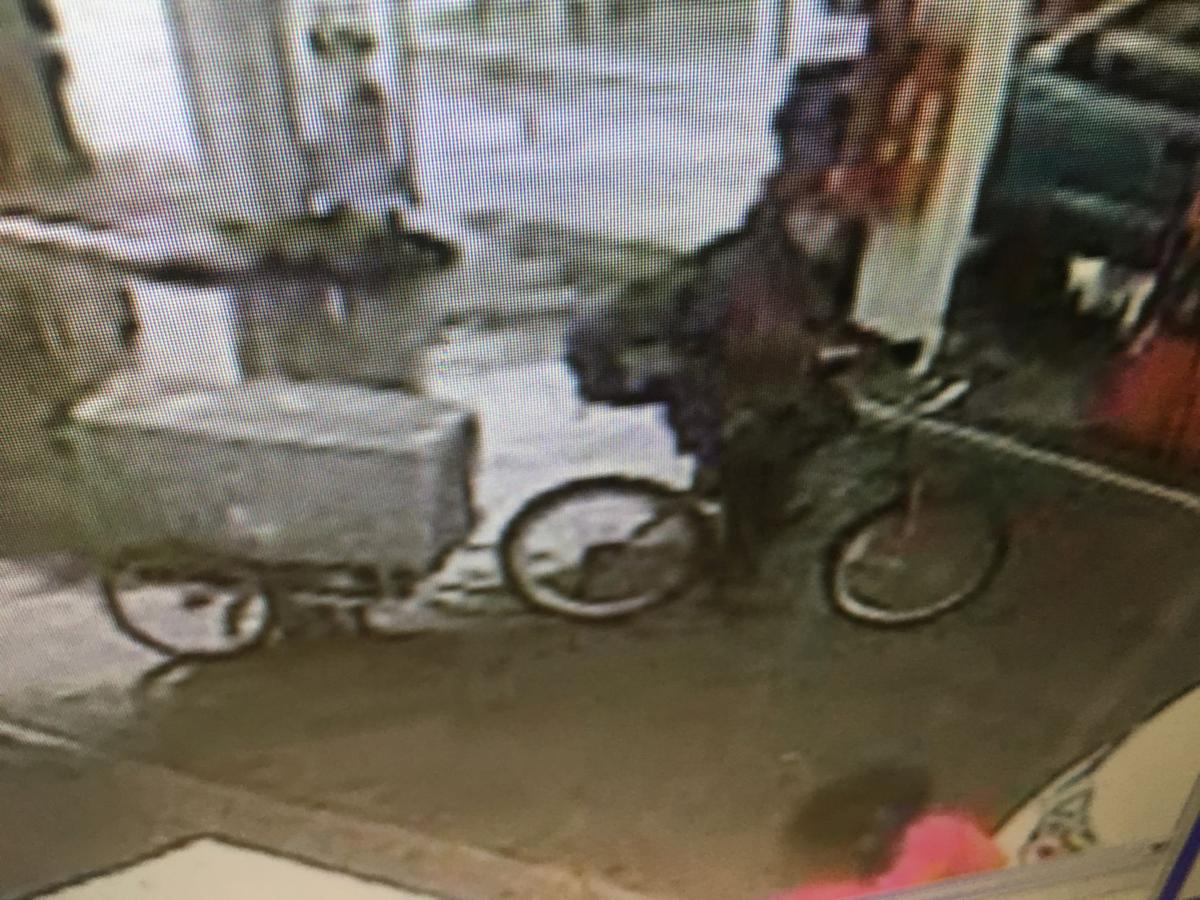 Wilkinson bike and cart