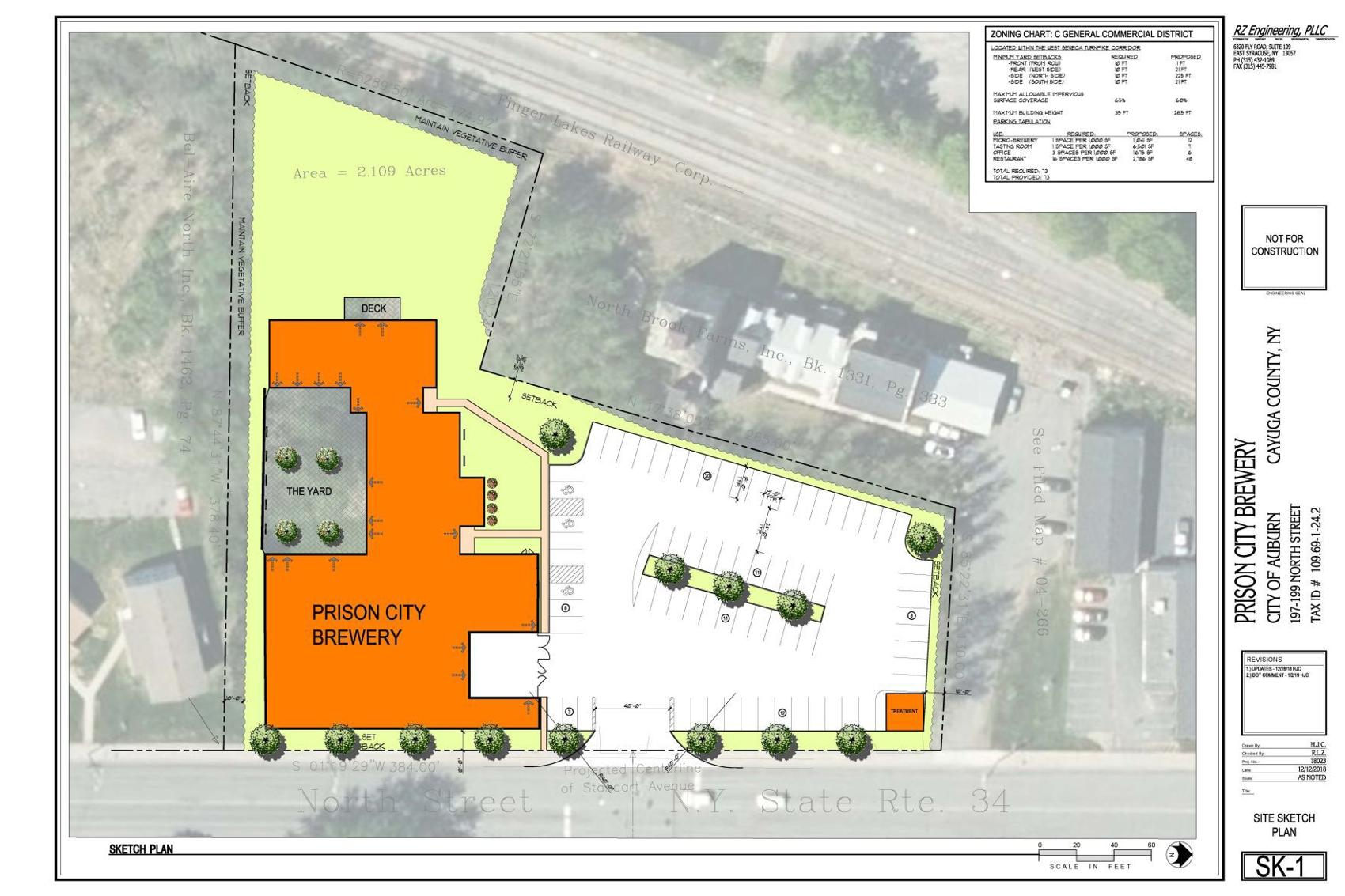 Prison City presents new brewery to Auburn Planning Board