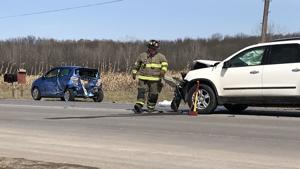 Crash shuts down Rt. 34 north of Auburn on Thursday