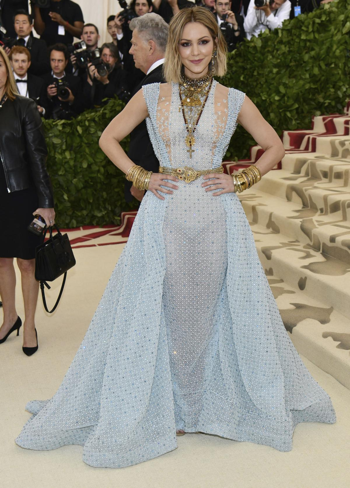 Photos: Celebrities blend fashion, some religion at 2018 Met Gala ...