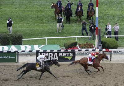 Belmont-Racing Surface Safety Horse Racing