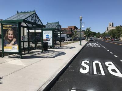 Centro buses no longer driving inside Auburn Plaza