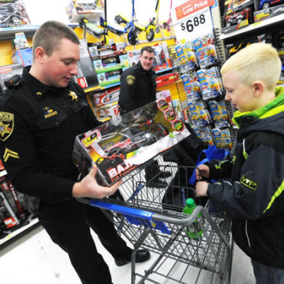 Cayuga County Sheriff's Office helps local children with