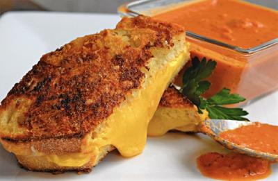Frico-Crusted Grilled Cheese