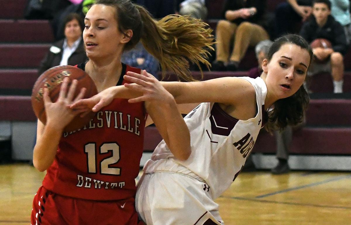 Auburn Girls Basketball Downed By Prolific Jamesville Dewitt