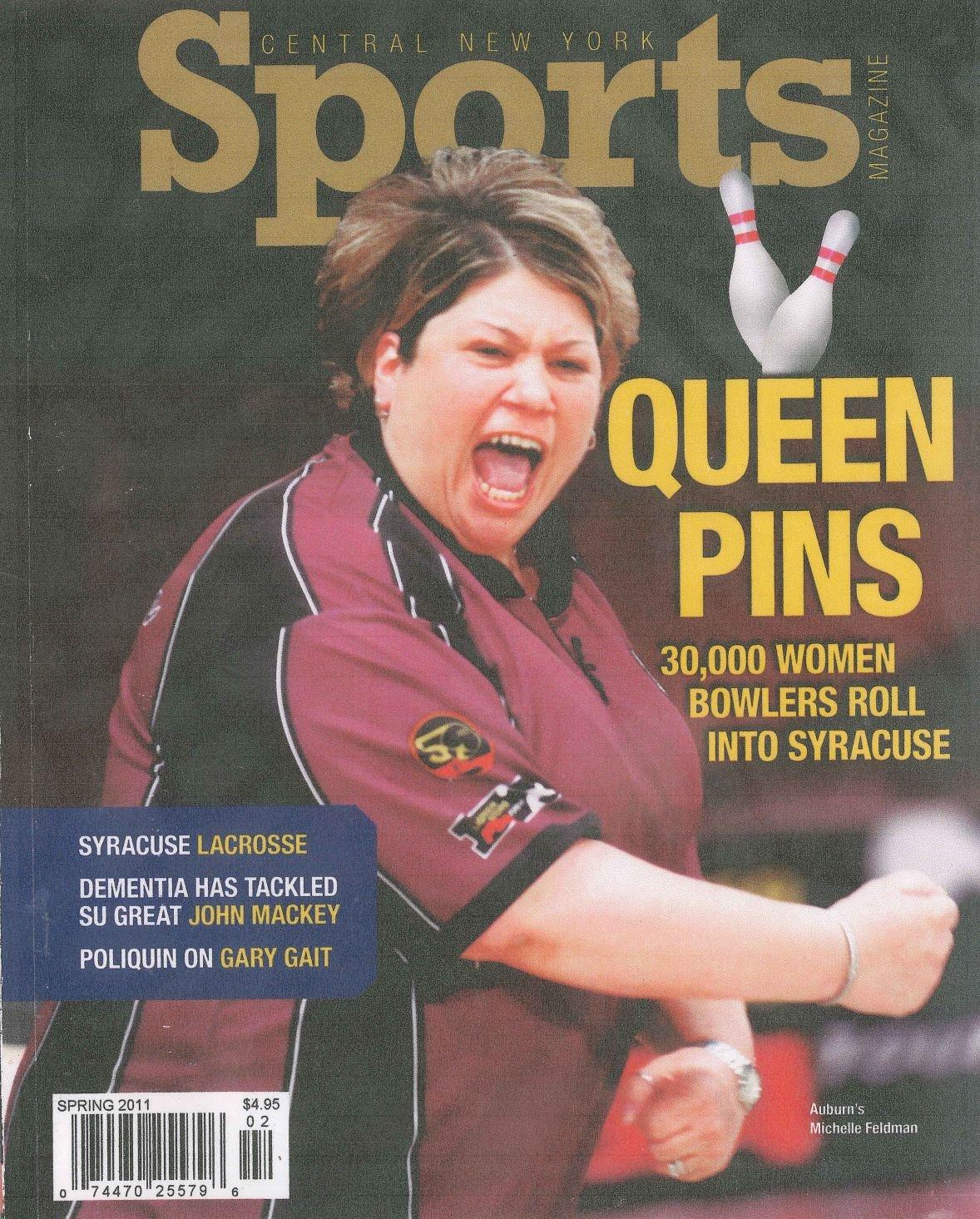 Michelle Feldman magazine cover