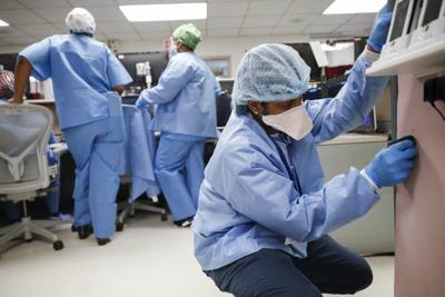 Virus Outbreak Healing Health Workers