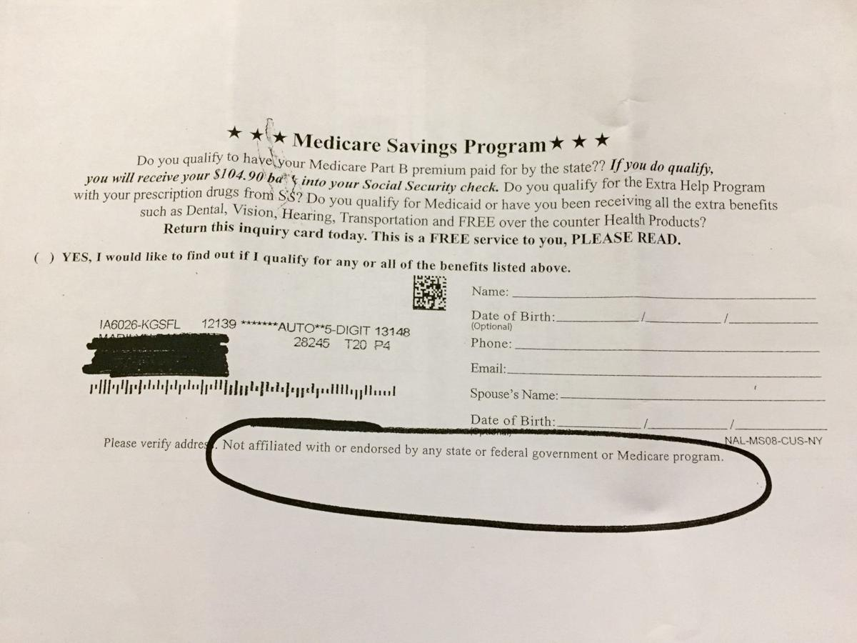 Medicare flier
