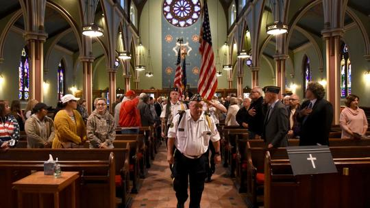 Auburn Veterans Day service honors veterans and their families