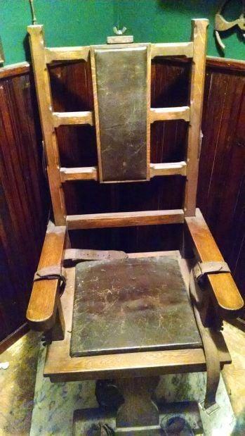 Auburn In 35 Objects: Electric Chair