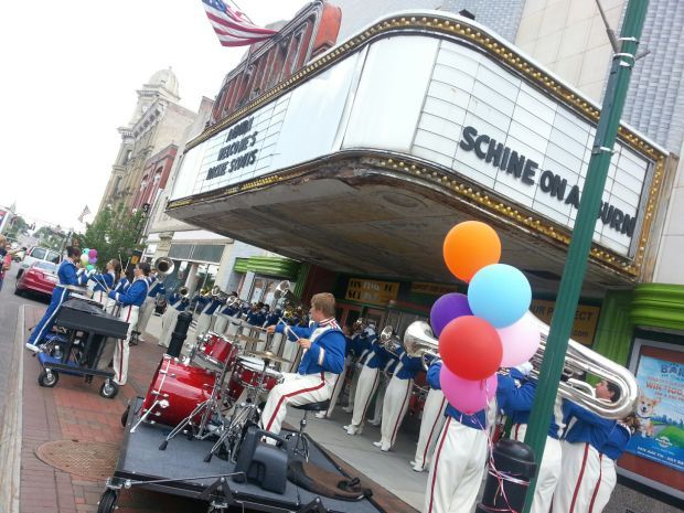 The Racine Scouts perform