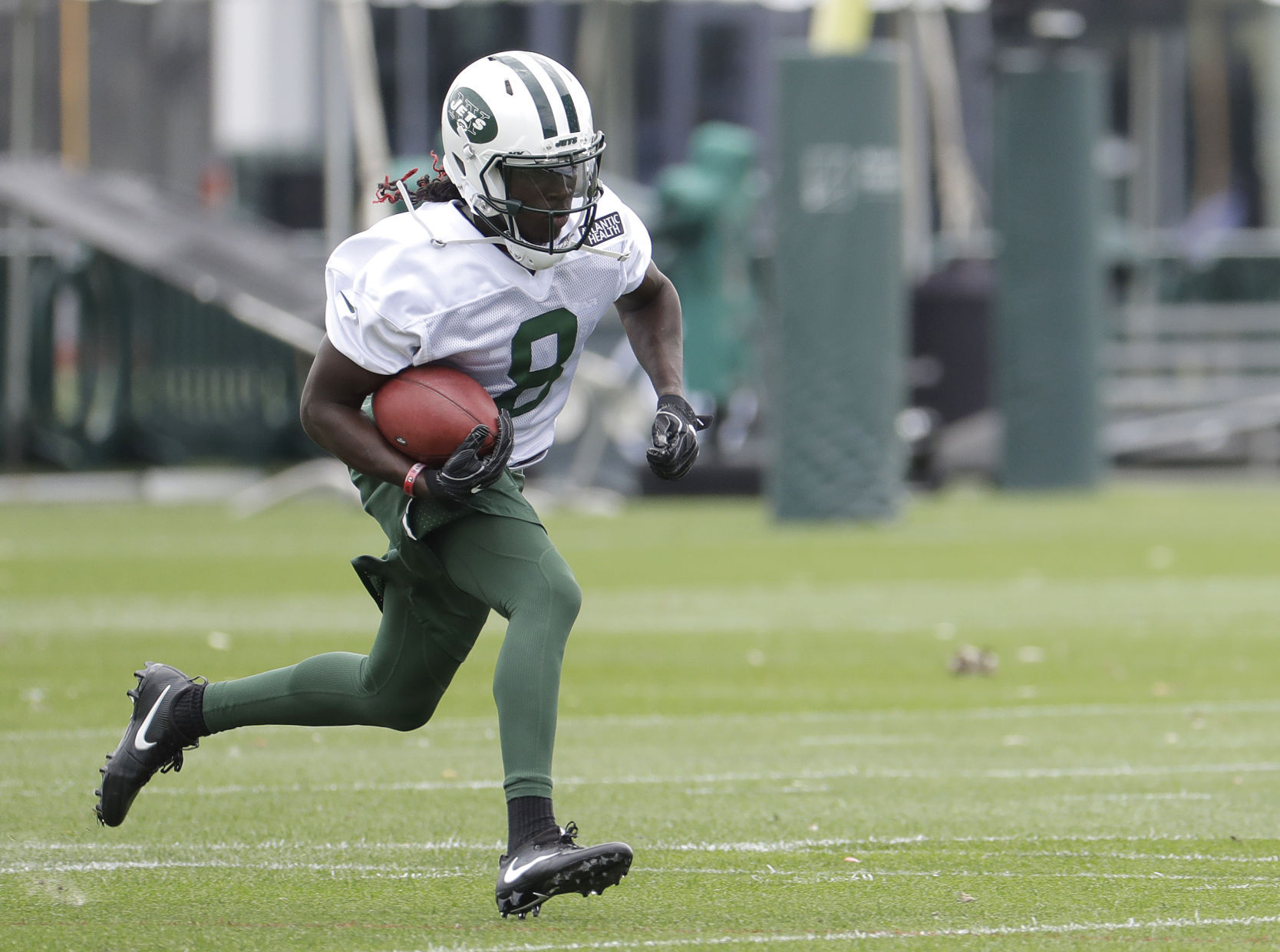 Lucky Whitehead Ready to Help Jets