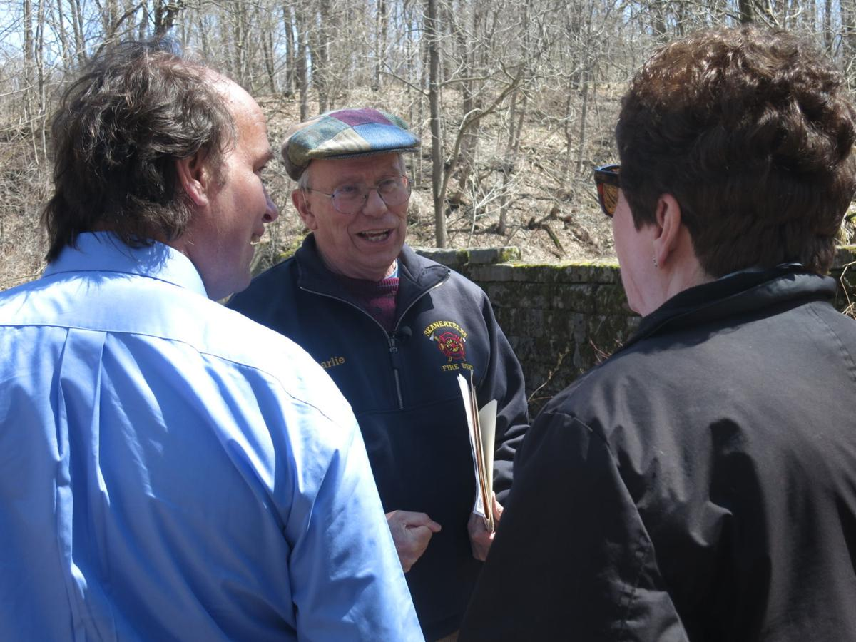 'Big business': Charlie Major Nature Trail's namesake shares history of Skaneateles industry