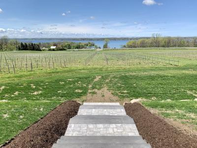 Quarry Ridge, new Cayuga County winery, has cozy space and savory view