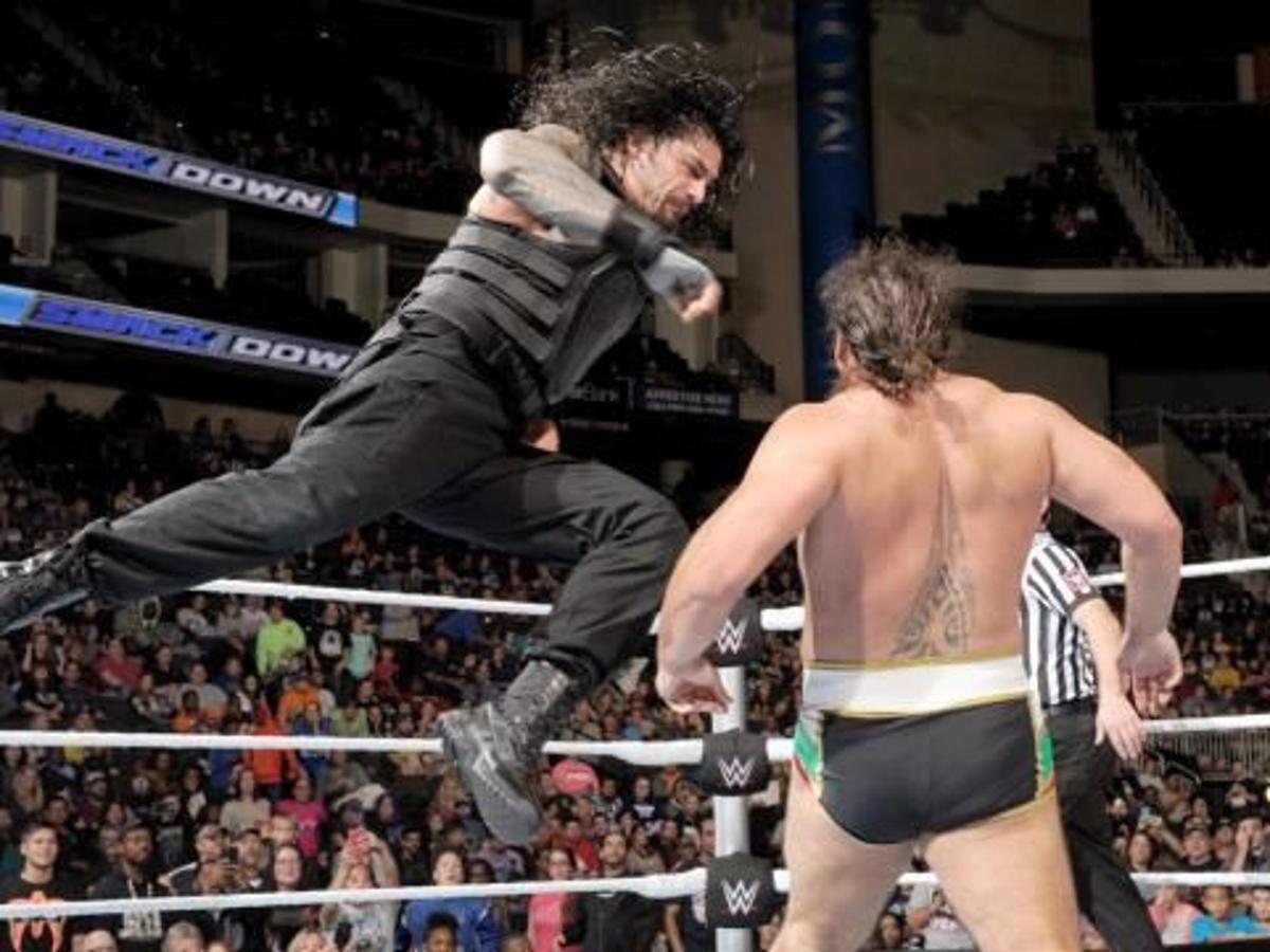 Wwe Tlc Results Roman Reigns Loses To Sheamus Then Attacks Triple H Powerbomb Post Auburnpub Com