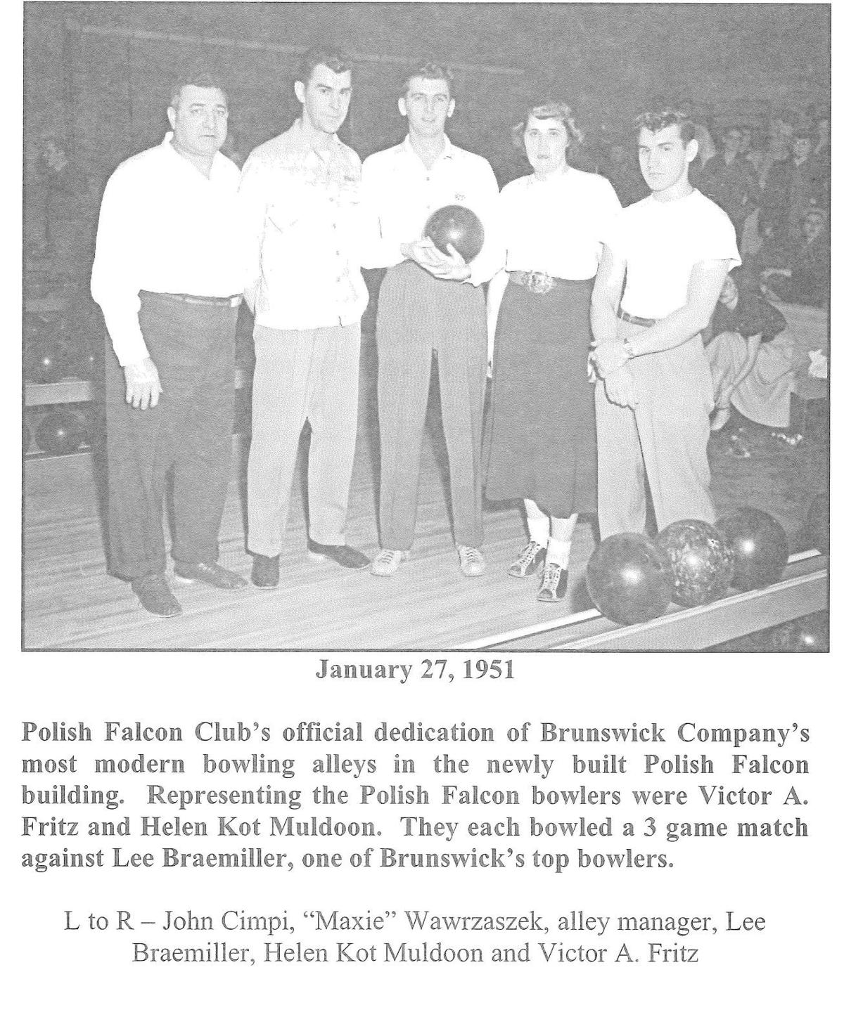 Photo # 1 - 1951 - Falcon's lanes dedication.jpg