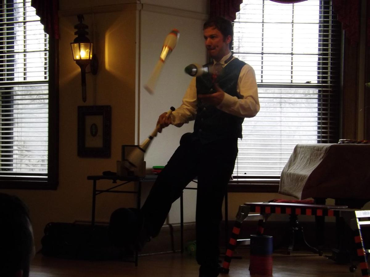 juggling performer makes debut at skaneateles library for dickens christmas shows - Christmas Shows Tonight