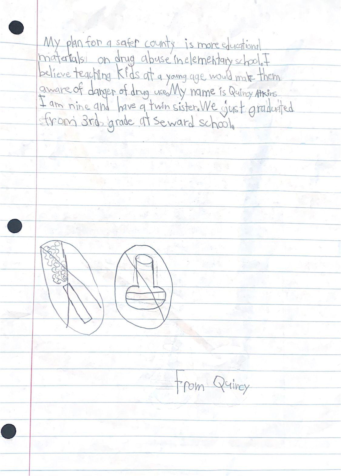 Quincy Atkins essay