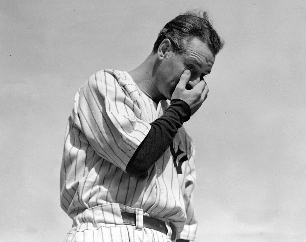1941: Lou Gehrig