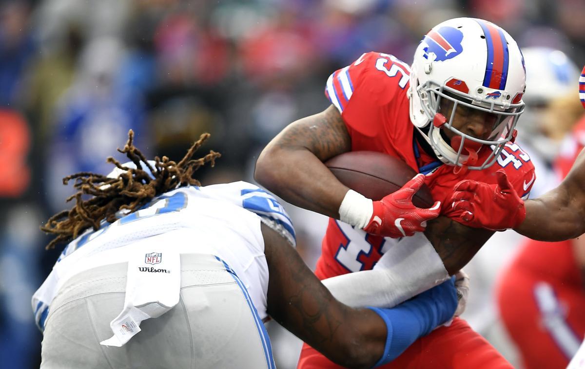 Lions Bills Football