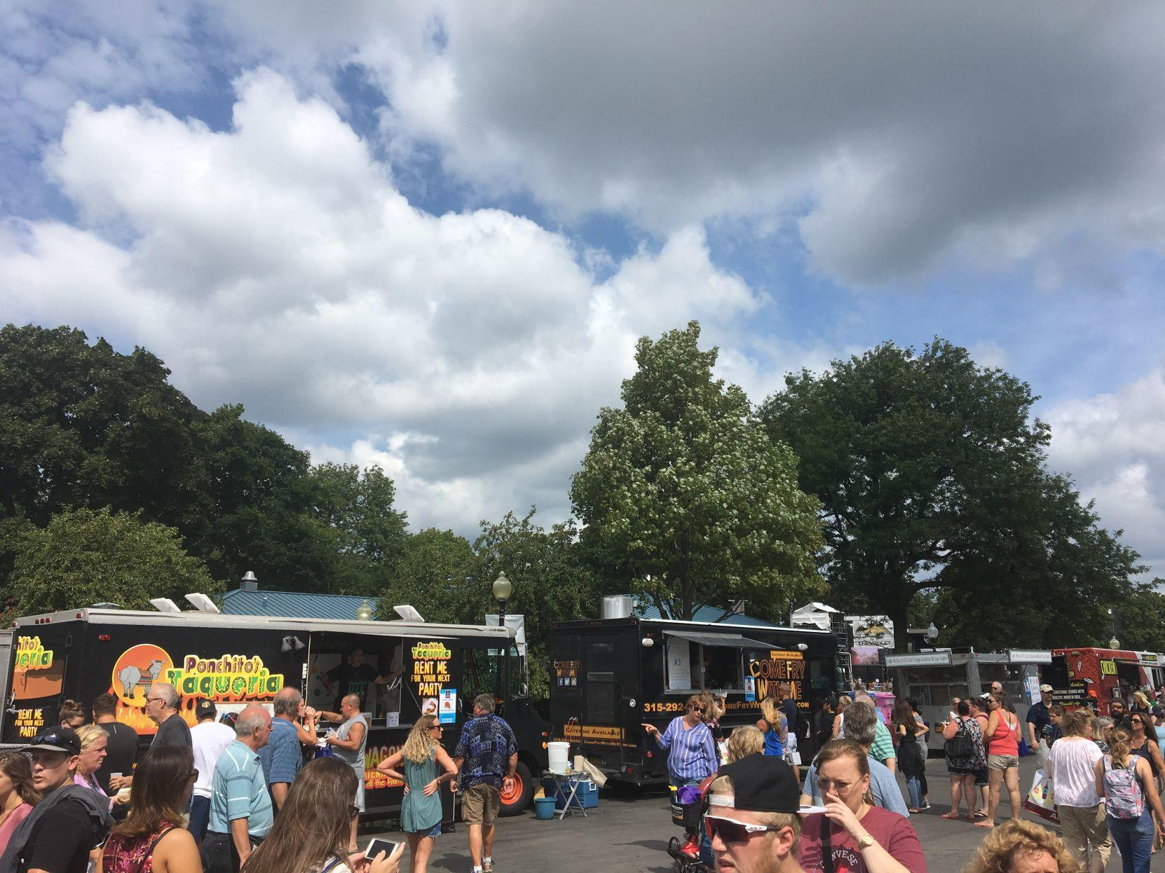 Taste NY Food Truck Competition gets new home, schedule at State Fair