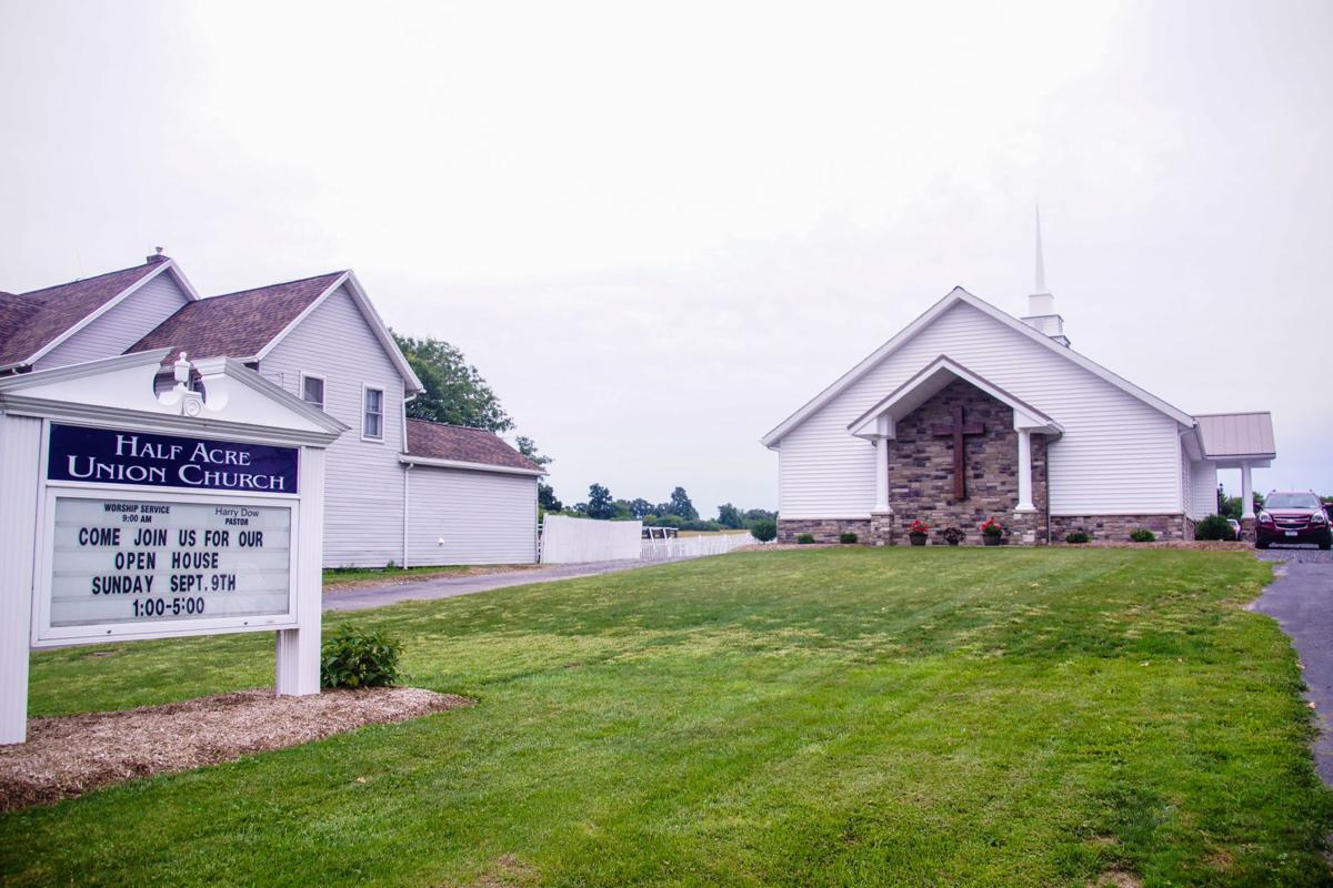 Half Acre Union Church in Aurelius presents new building