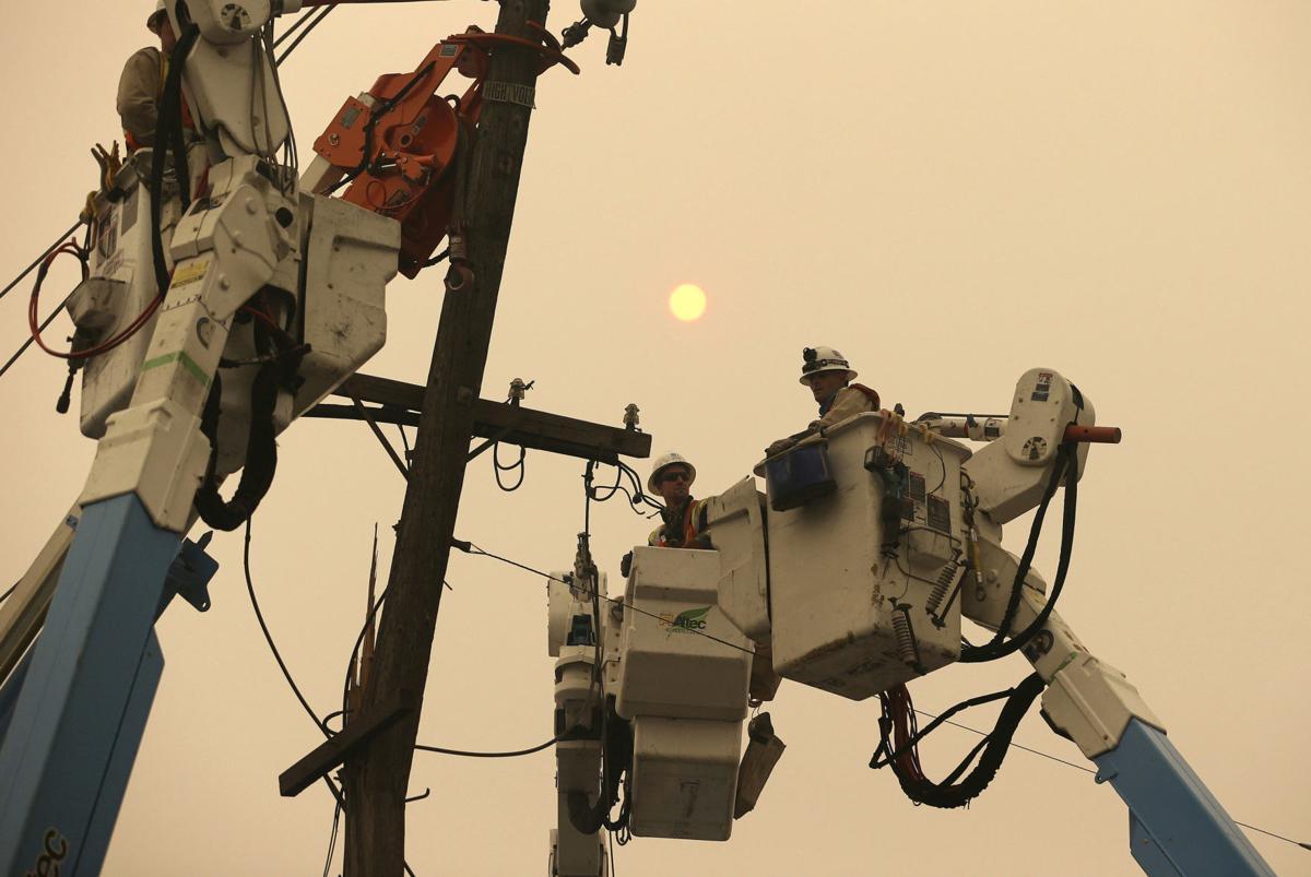 California Wildfires Power Shutoff