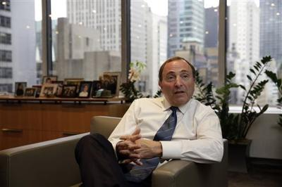 Nhl S Gary Bettman Now Dean Of Commissioners Local Sports