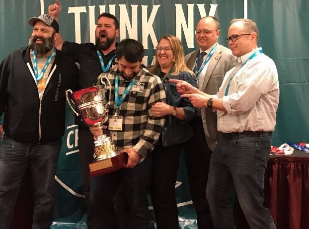 Auburn's Prison City and Weedsport's Lunkenheimer win big at state beer competition
