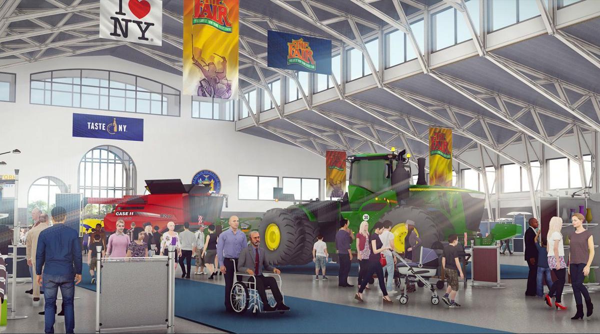 Fair Expo Center Rendering 6
