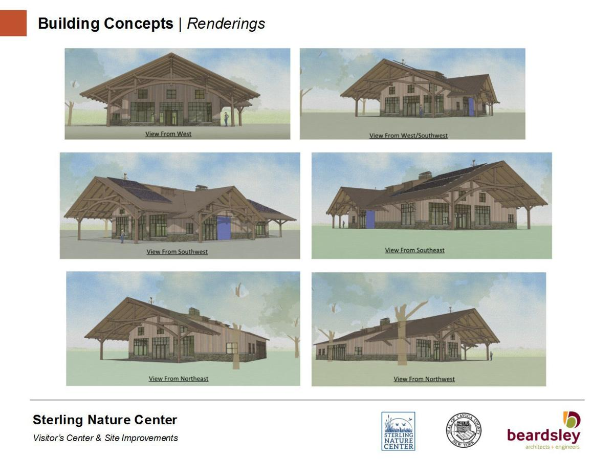 Proposed redesign of Sterling Nature Center unveiled