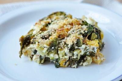 Baked Zucchini, Spinach And Feta Is The Low-Carb Comfort Food You Need In Your Life