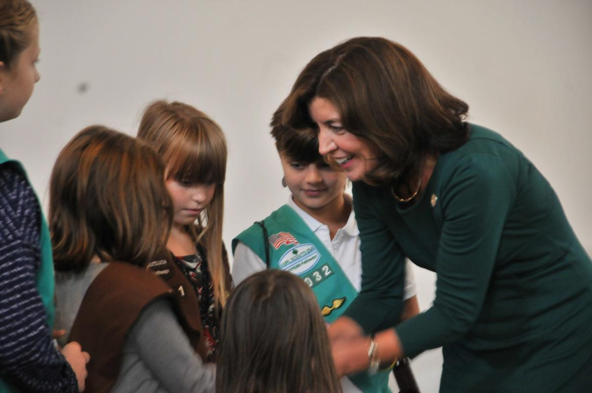 Girl Scouts Hochul