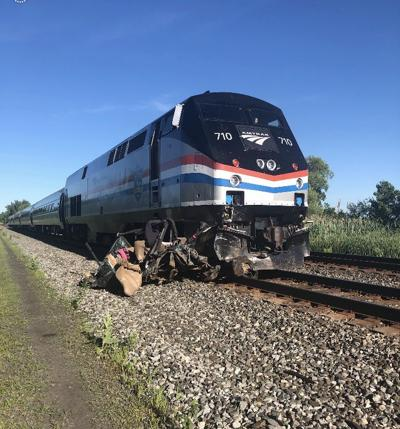 State police: Amtrak train hits car in Wayne County   Local News