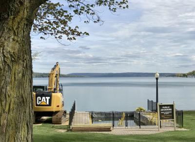 Skaneateles updates Clift Park's swimming area