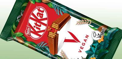 Nestle vegan KitKat