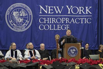 Chiropractic commencement