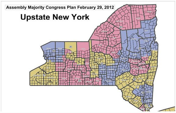 Nys Assembly District Map Release of Assembly and Senate proposed congressional district